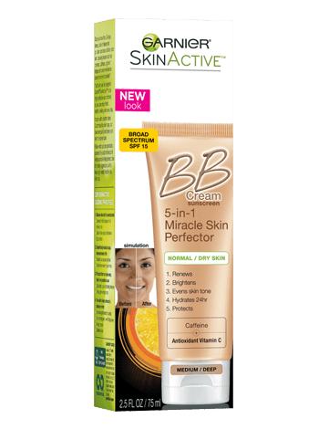 Garnier SkinActive Miracle Skin Perfector BB Cream - Medium/Deep