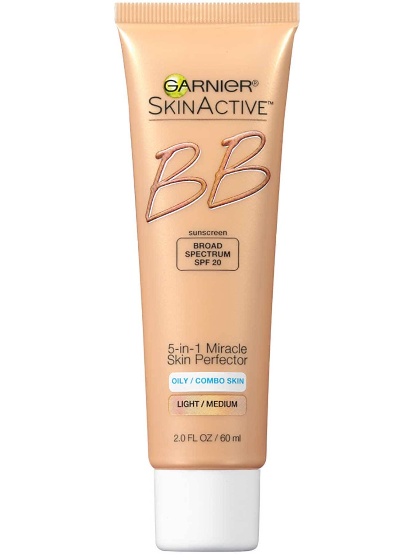 Front view of BB Cream 5-in-1 Miracle Skin Perfector, Oily and Combination Skin, Medium.