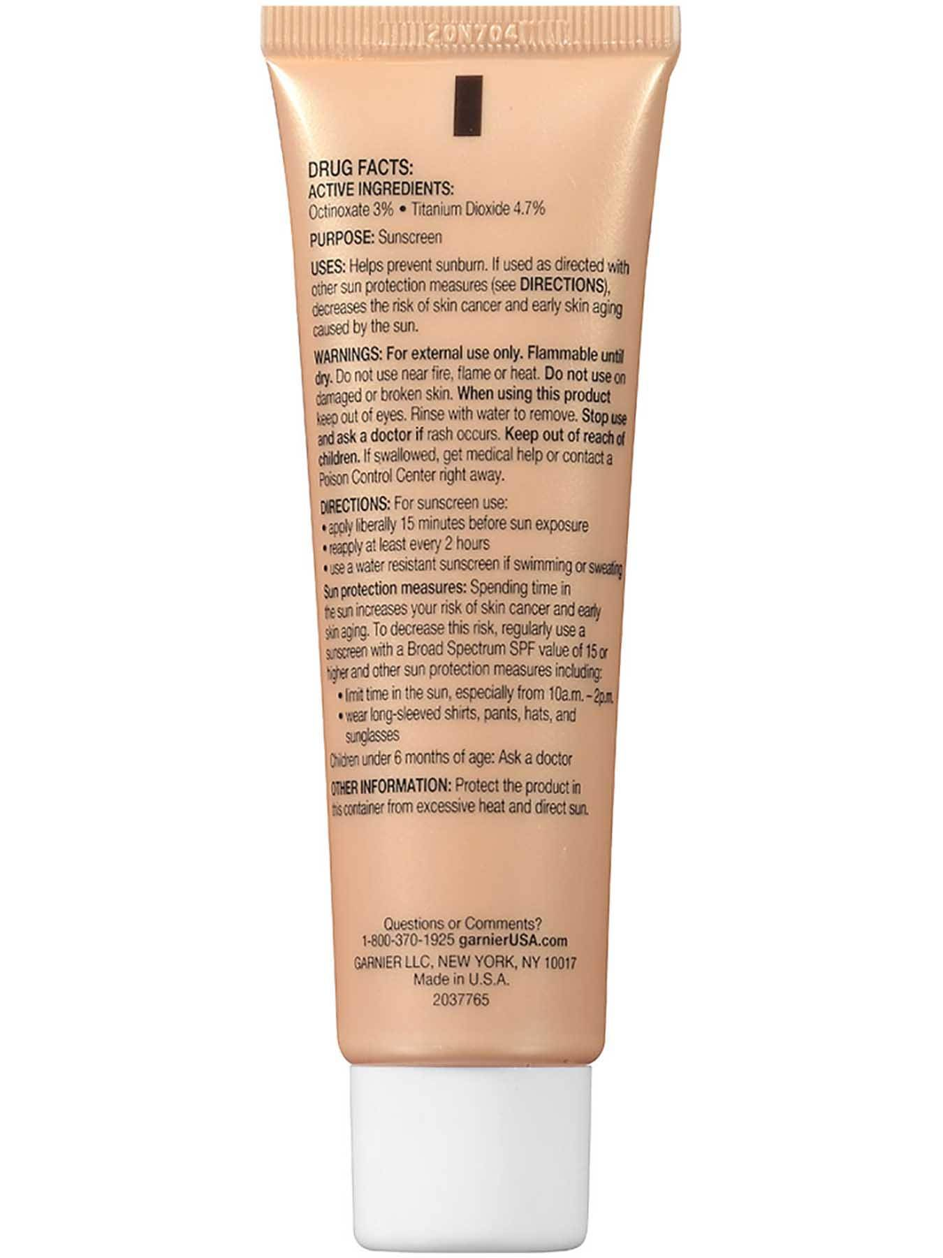 Back view of BB Cream 5-in-1 Miracle Skin Perfector, Oily and Combination Skin, Medium.