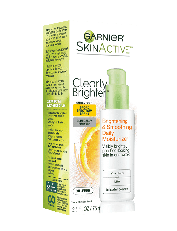 Garnier SkinActive Clearly Brighter Brightening & Smoothing Daily Moisturizer SPF 15