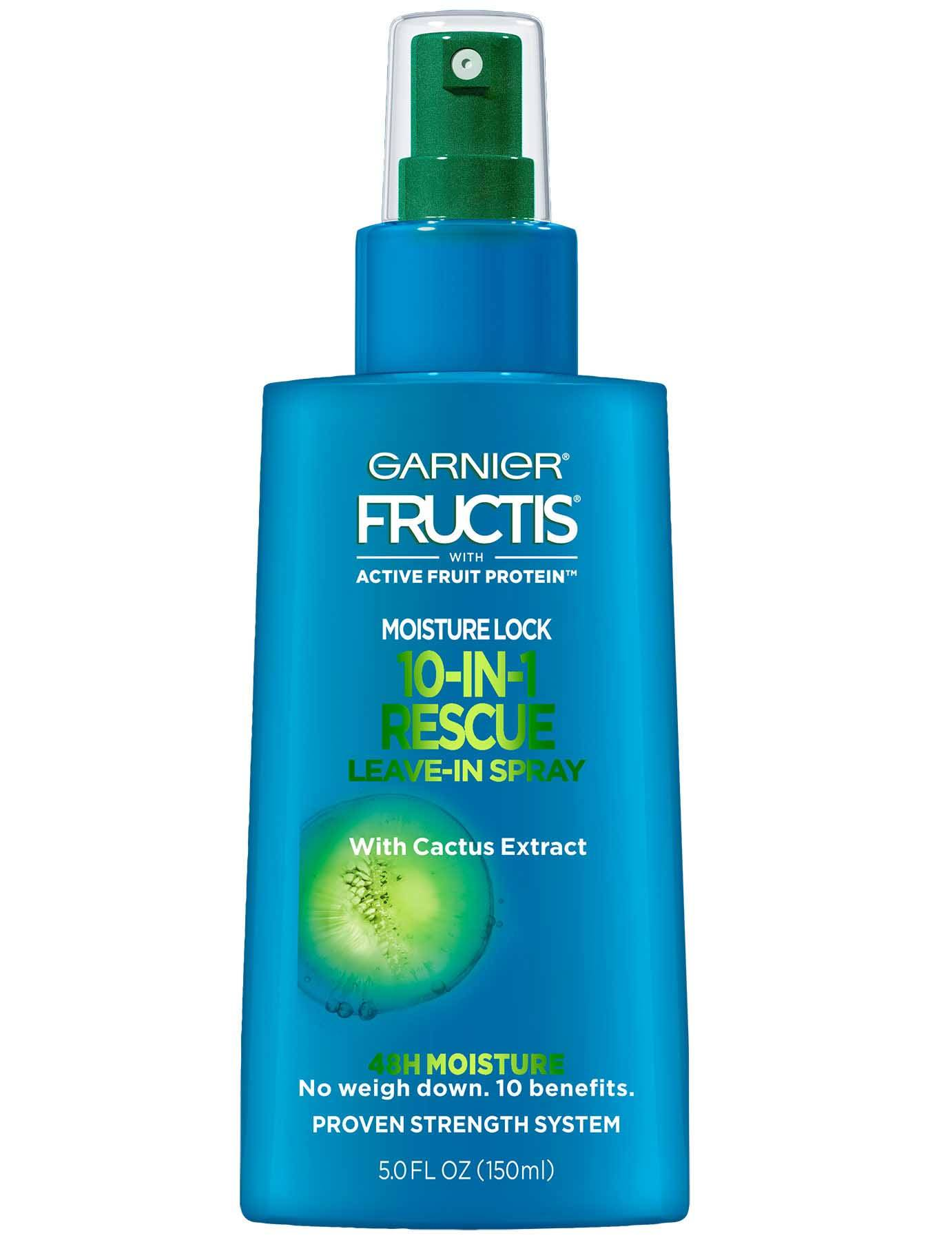 Garnier Fructis moisture lock 10 in 1 leave in spray