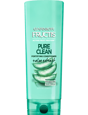 Garnier Fructis Pure Clean Conditioner 12 oz Front