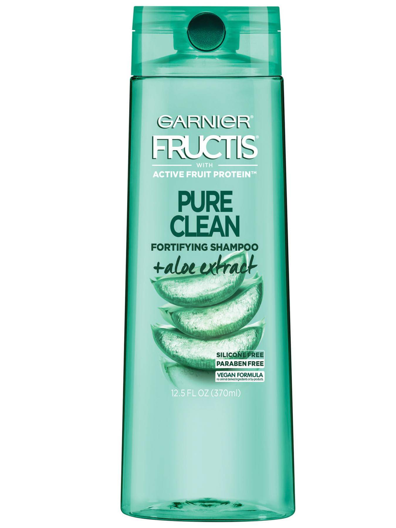 Pure Clean Shampoo Hair Care Product Garnier Fructis