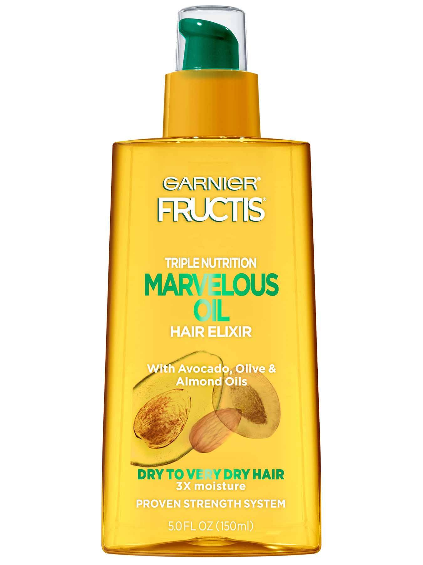 Marvelous Oil Hair Elixir - Dry Hair Treatment - Garnier