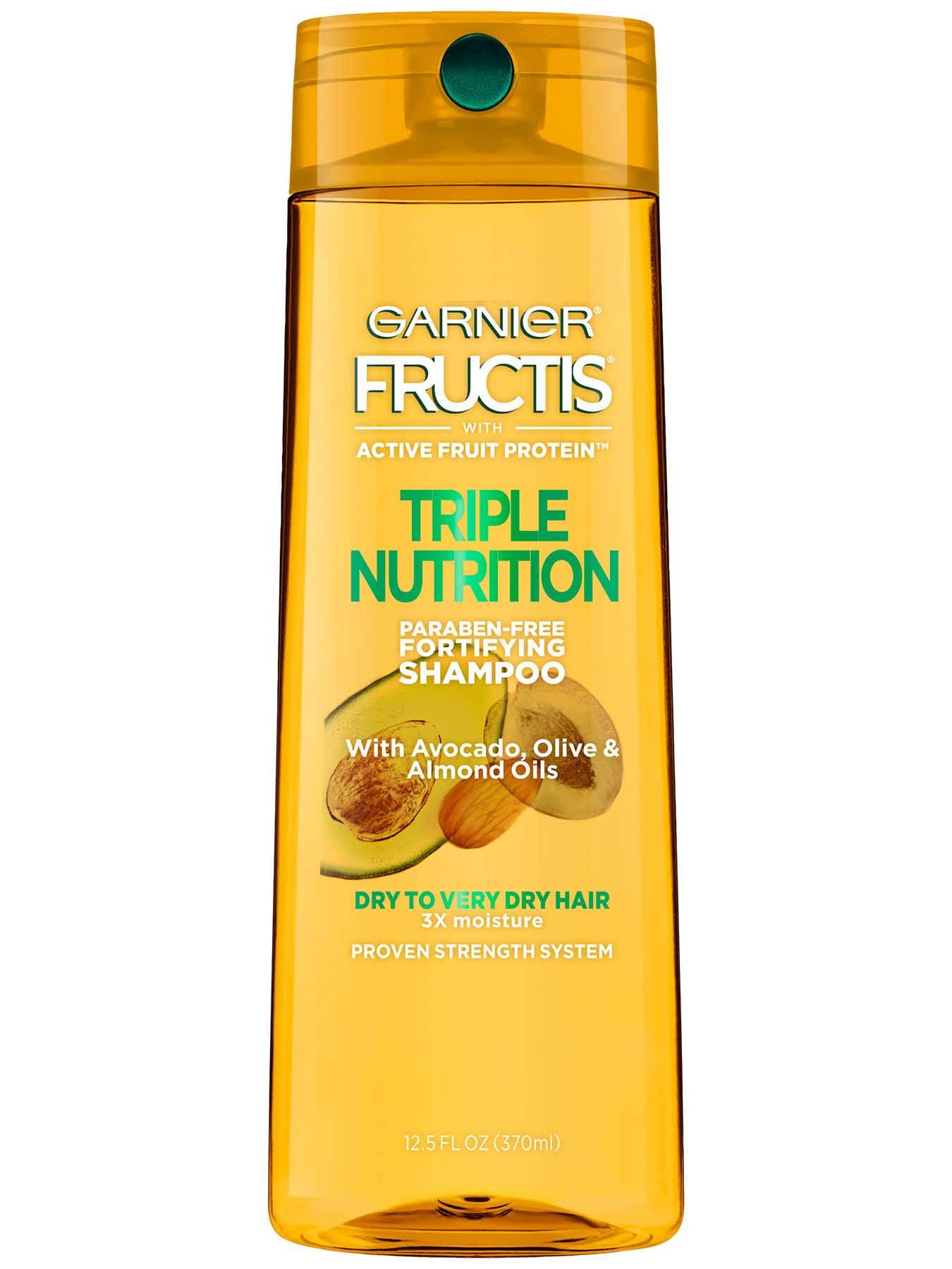 Front view of Triple Nutrition Shampoo.