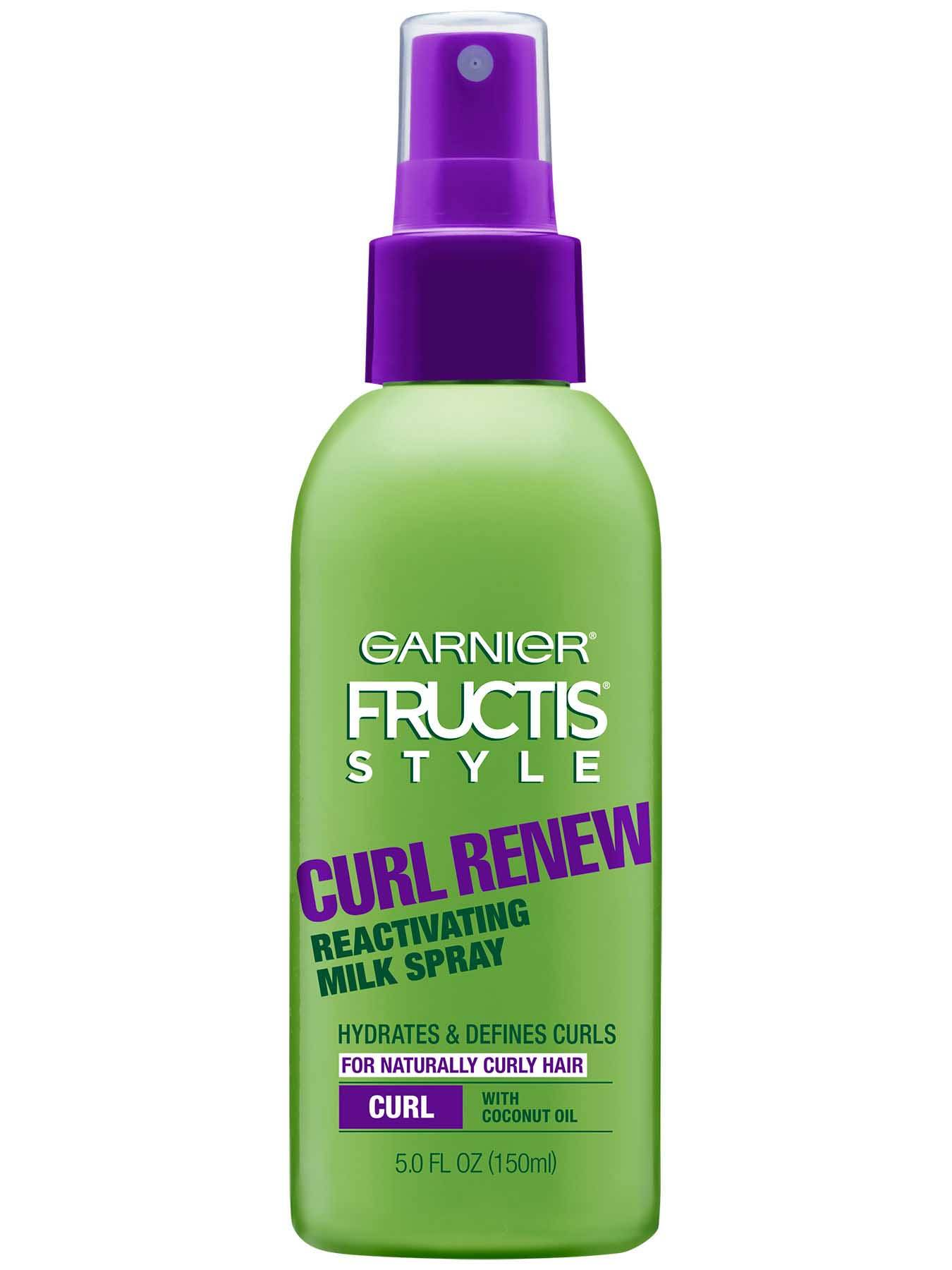 Front view of Curl Renew Reactivating Milk Spray.
