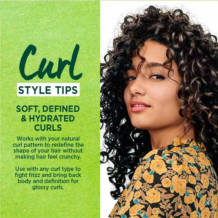 Garnier Curl Renew Reactivating Milk Spray Style tips