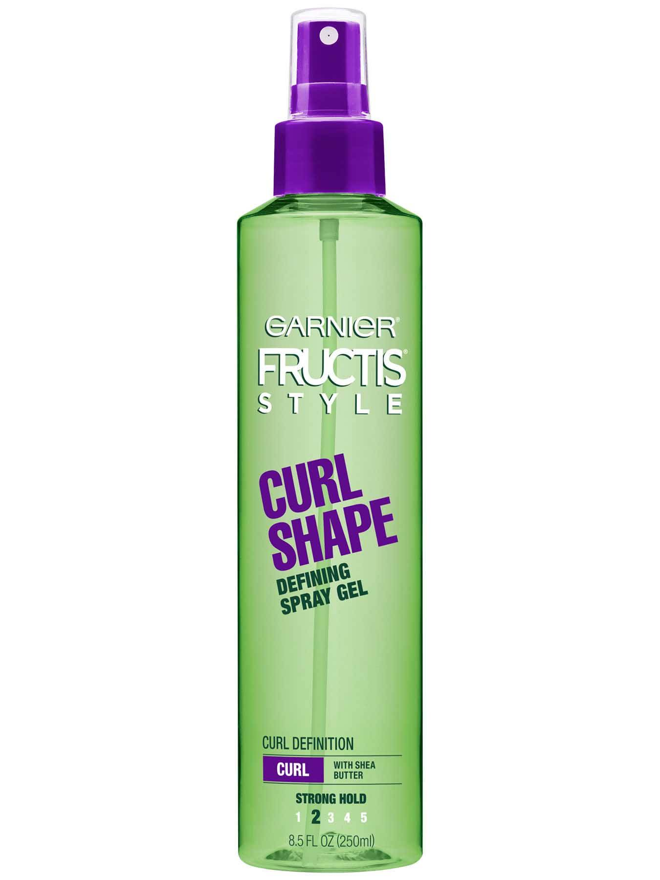 Front view of Curl Shape Defining Spray Gel.