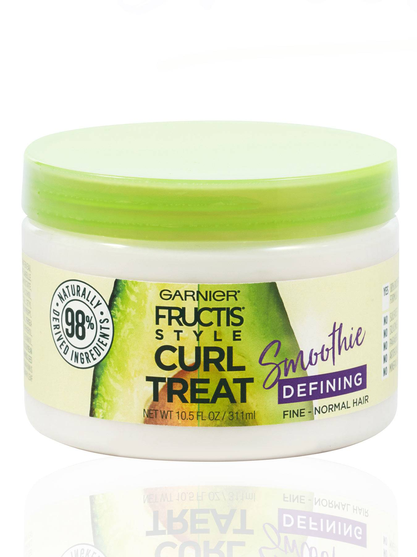 Front view of Curl Treat Smoothie Defining Leave-in Styler for Soft Curls.