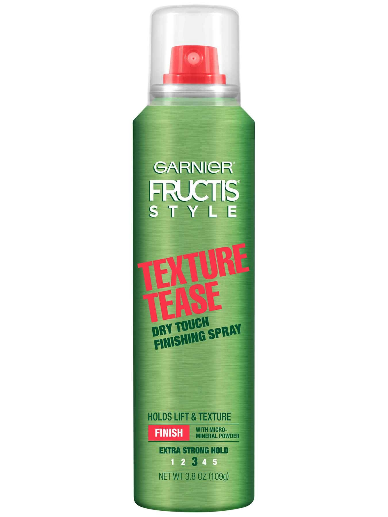 Garnier Fructis Style Texture Tease Finishing Spray Front