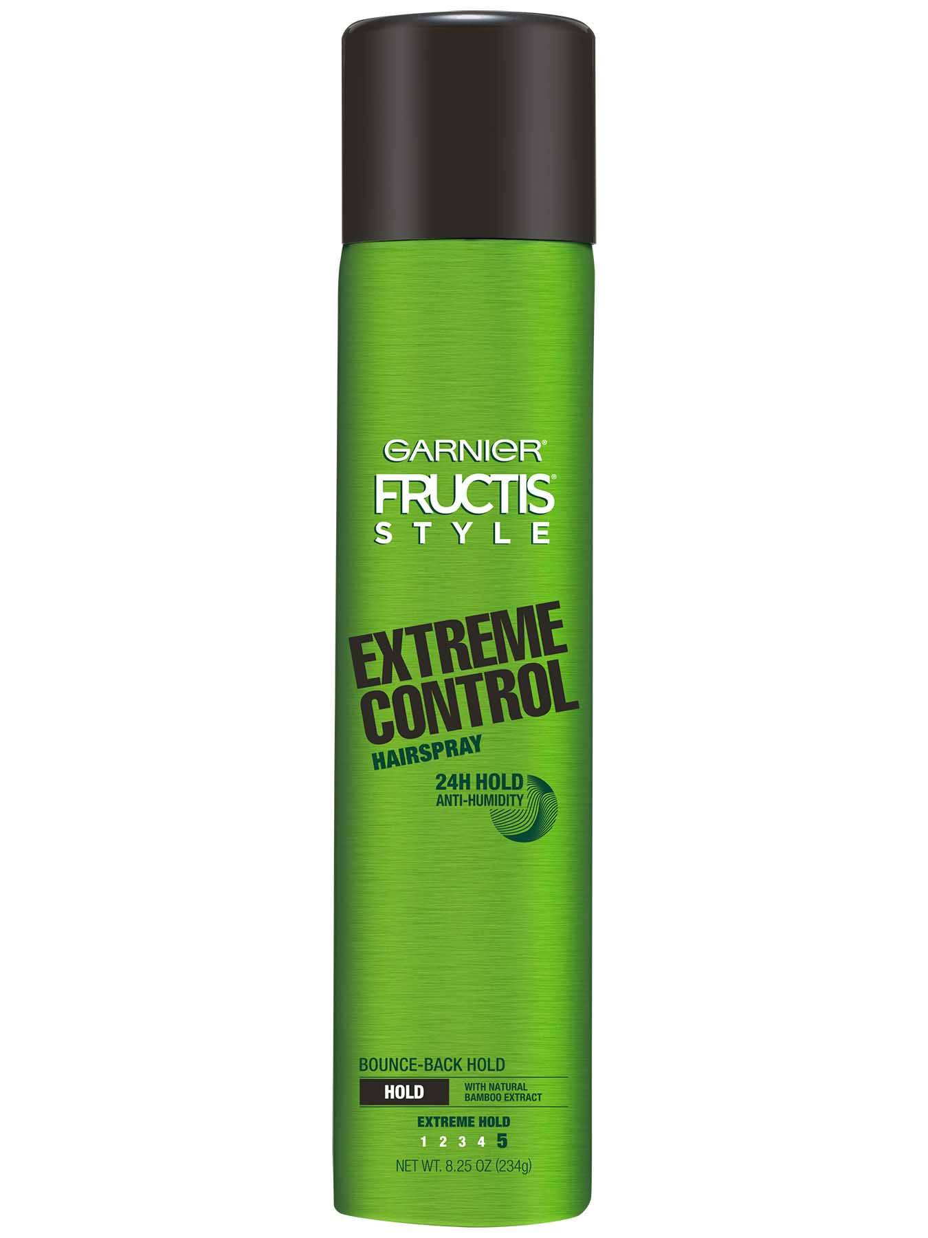 Front view of Extreme Control Anti-Humidity Aerosol Hair Spray.