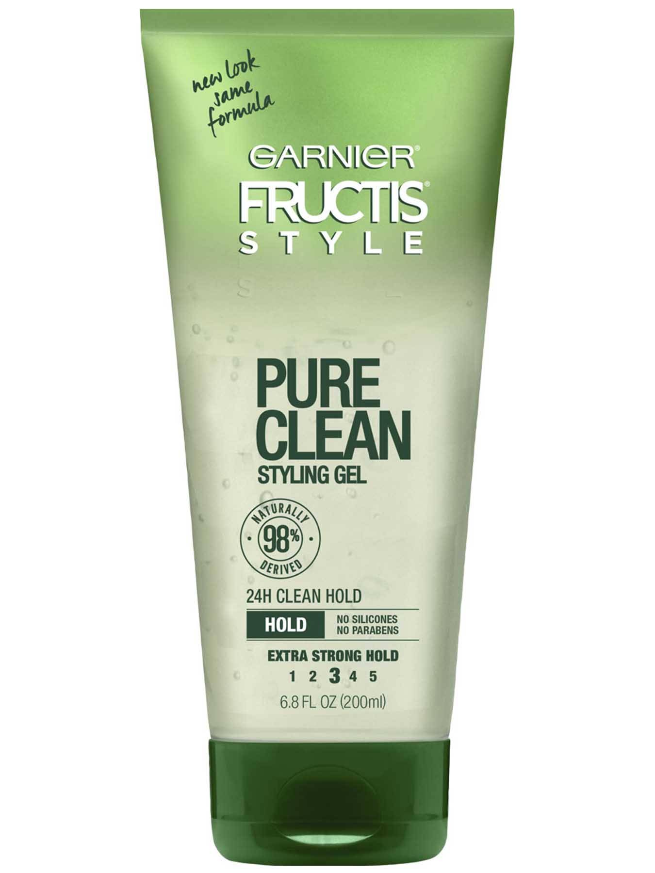 Front view of Pure Clean Styling Gel.