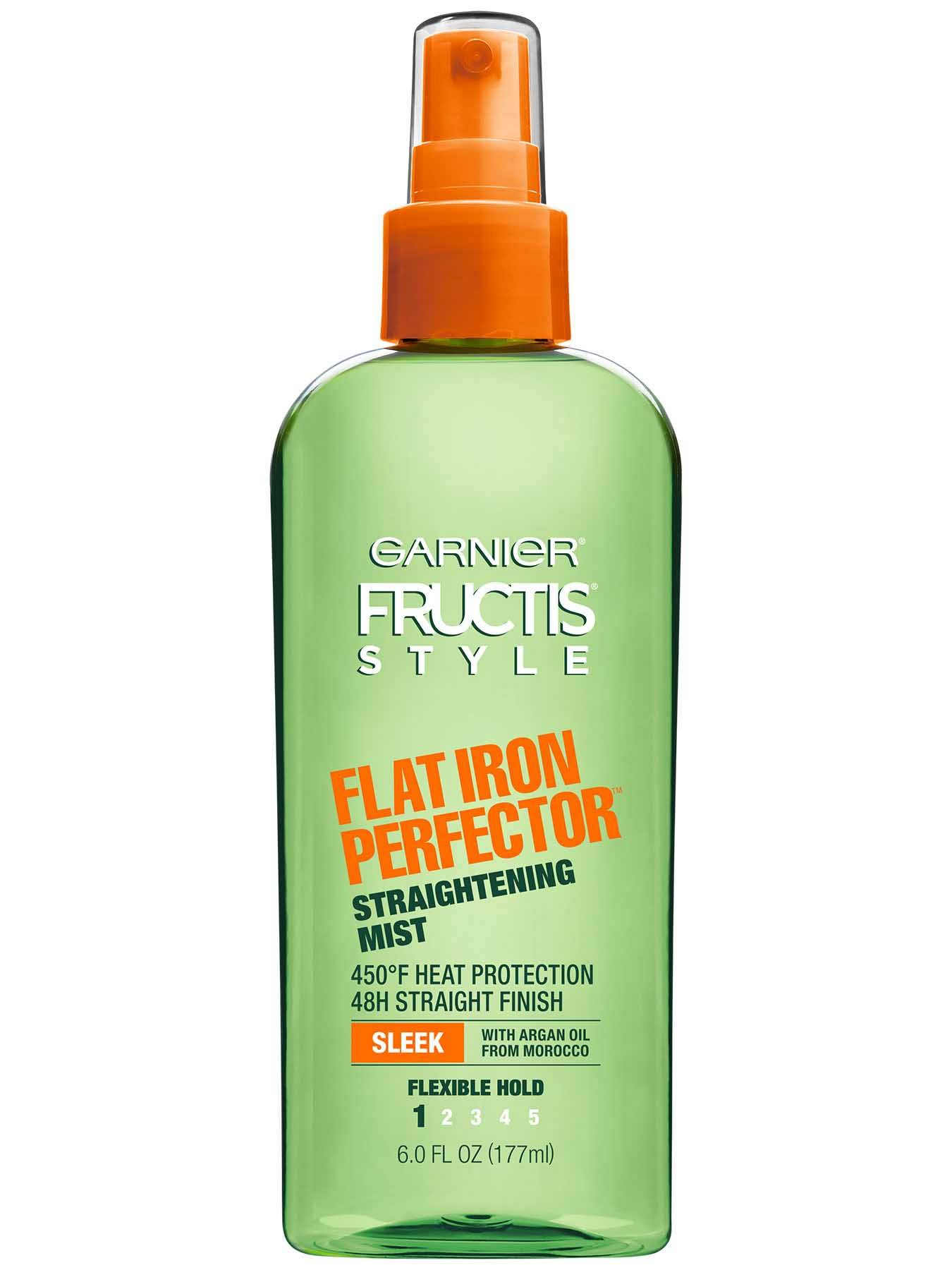 Front view of Flat Iron Perfector Straightening Mist.