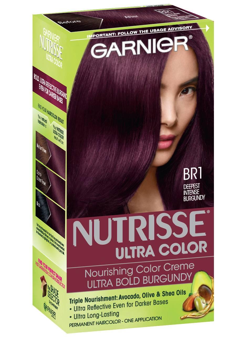 Nutrisse Ultra Color Bold Trendy Hair Color For Dark Hair Garnier