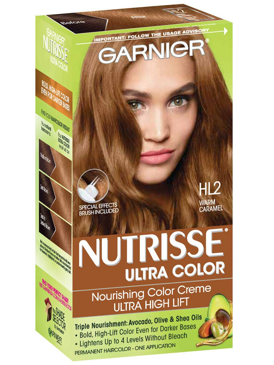 nutrisse ultra color box angled view