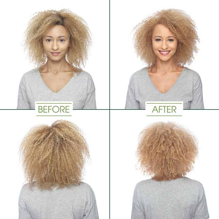garnier hair color medium blonde shade before and after