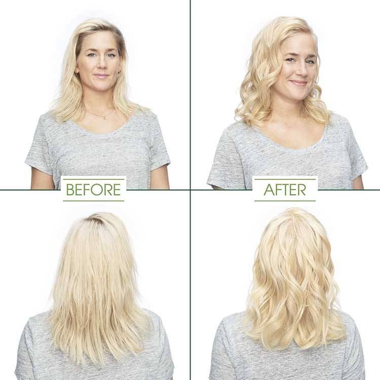 garnier hair color ultra light cool blonde shade before and after