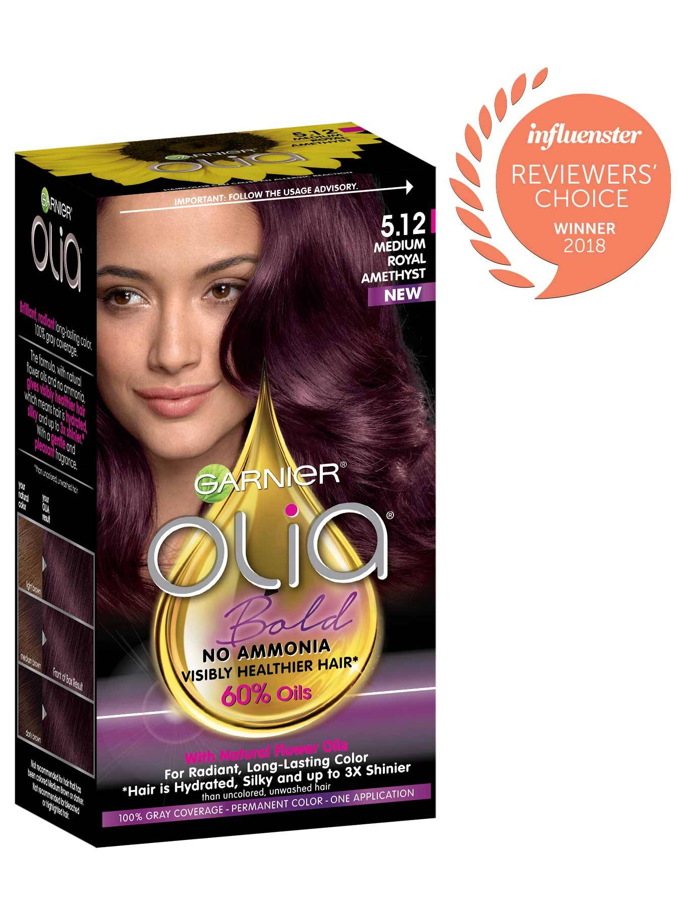 Garnier Olia Bold Packshot Award 5.12 Medium Royal Amethyst