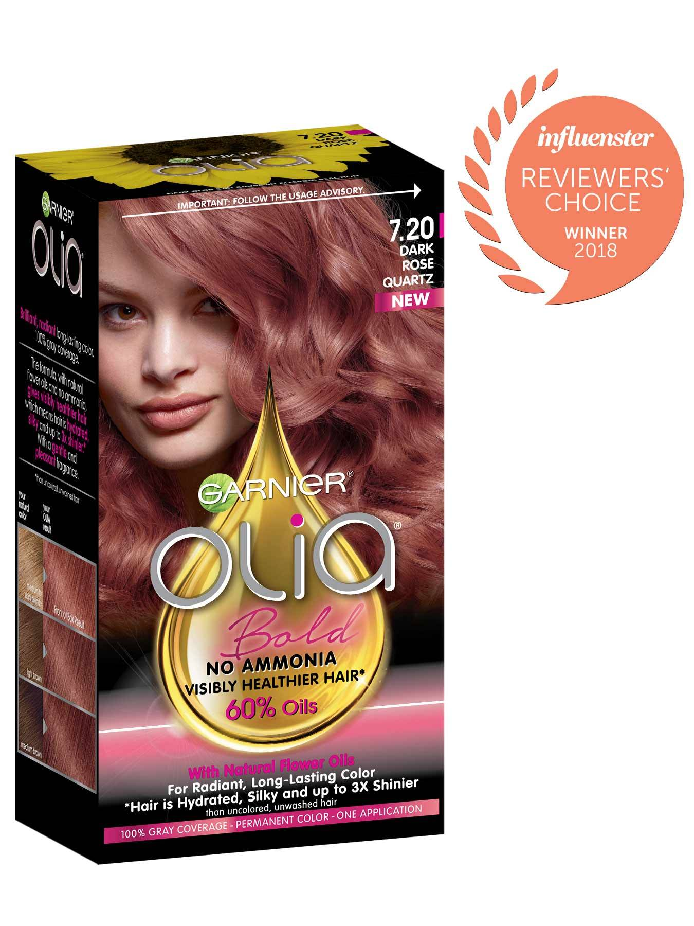 Dark Red Hair Color Olia Hair Color Oil Powered