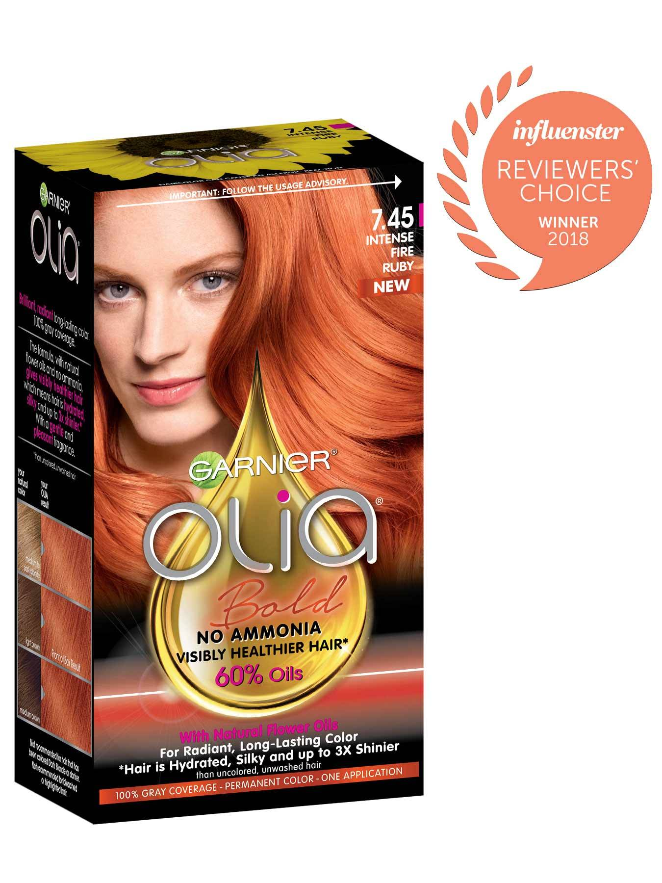 Light Red Hair Color Permanent Semi Permanent
