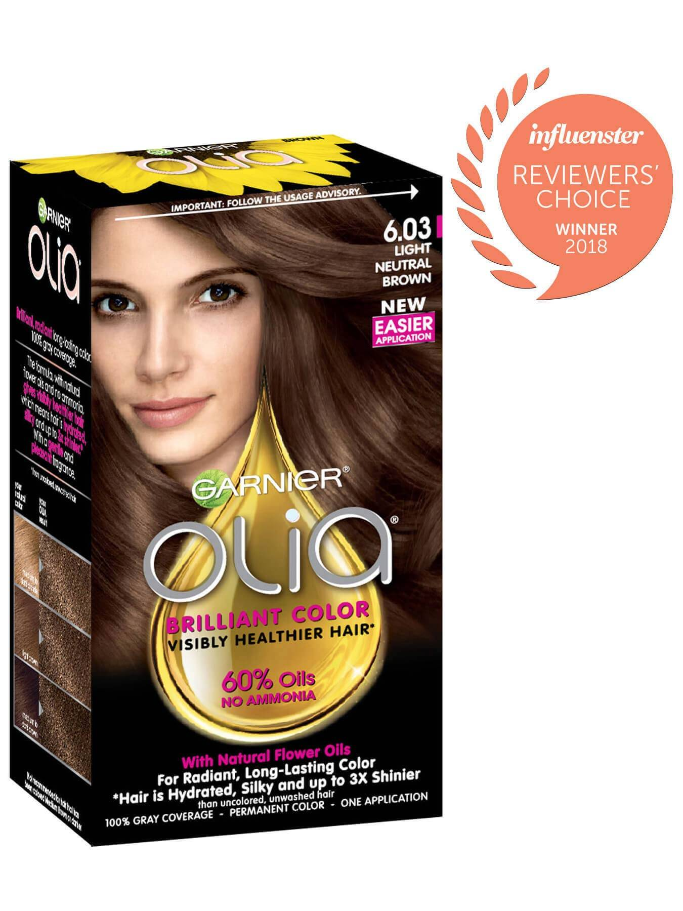 Garnier Olia Packshot Award 6.03 Light Neutral Brown