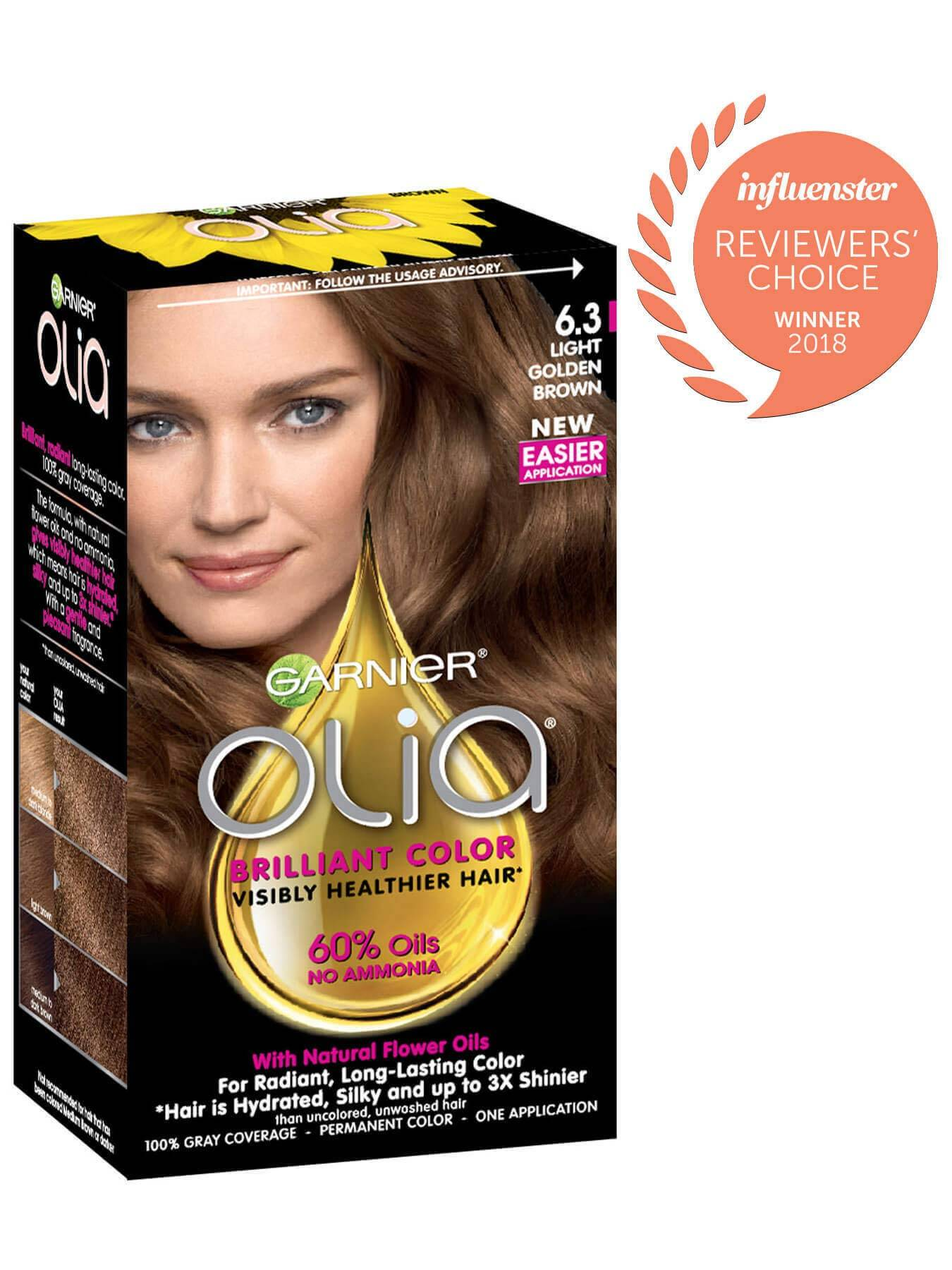 Garnier Olia Packshot Award 6.3 Light Golden Brown
