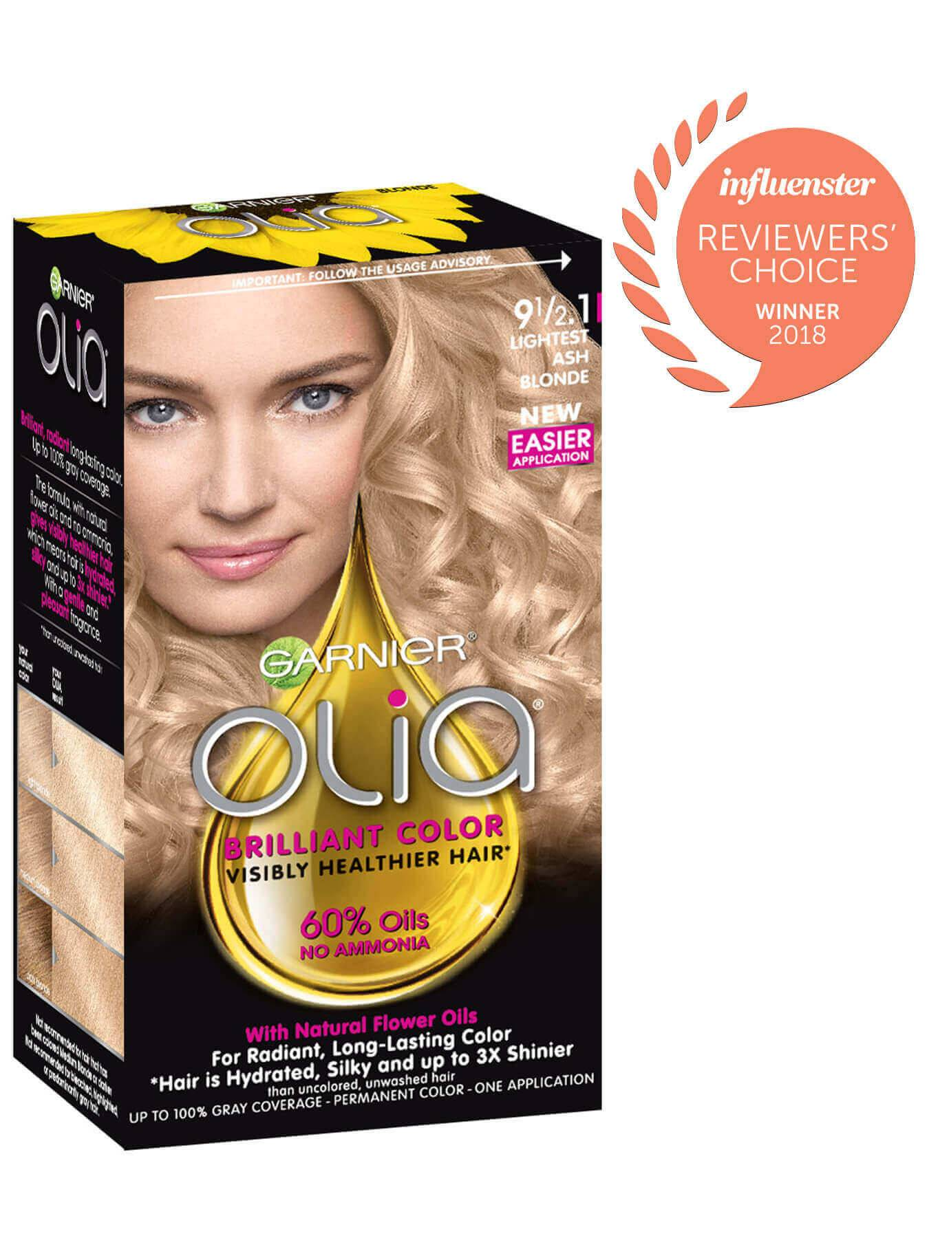 Garnier Olia Packshot Award 9 1/2.1 Lightest Ash Blonde