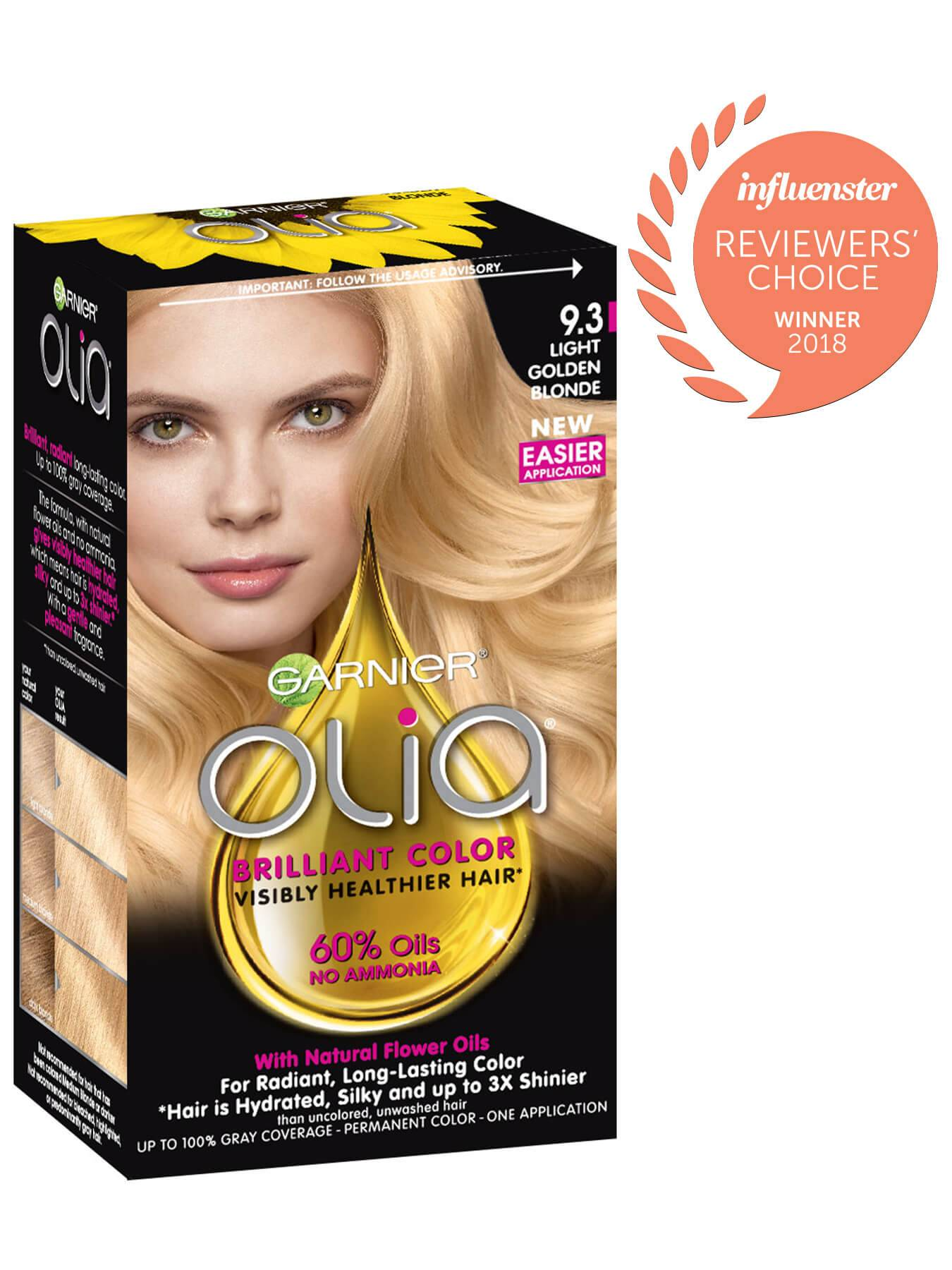 Garnier Olia Packshot Award 9.3 Light Golden Blonde