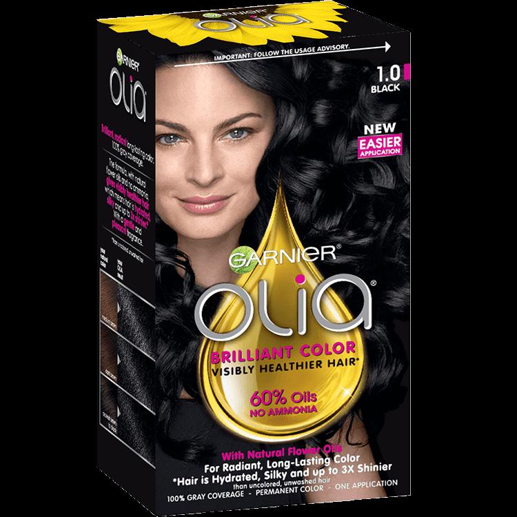 Olia Permanent Ammonia Free Hair Color Garnier