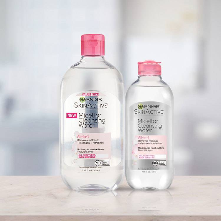 micellar cleansing water all in 1 -  400ml & 700ml