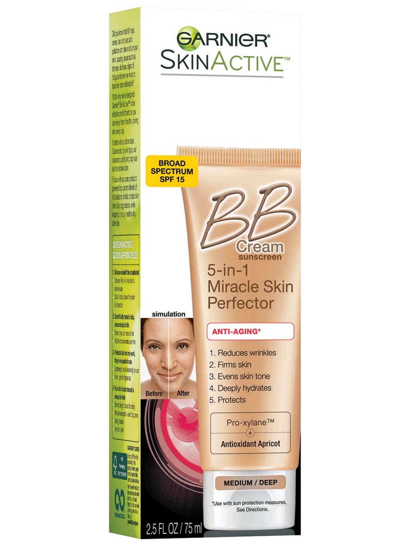 Right Side view of BB Cream Anti-Aging Medium Deep.