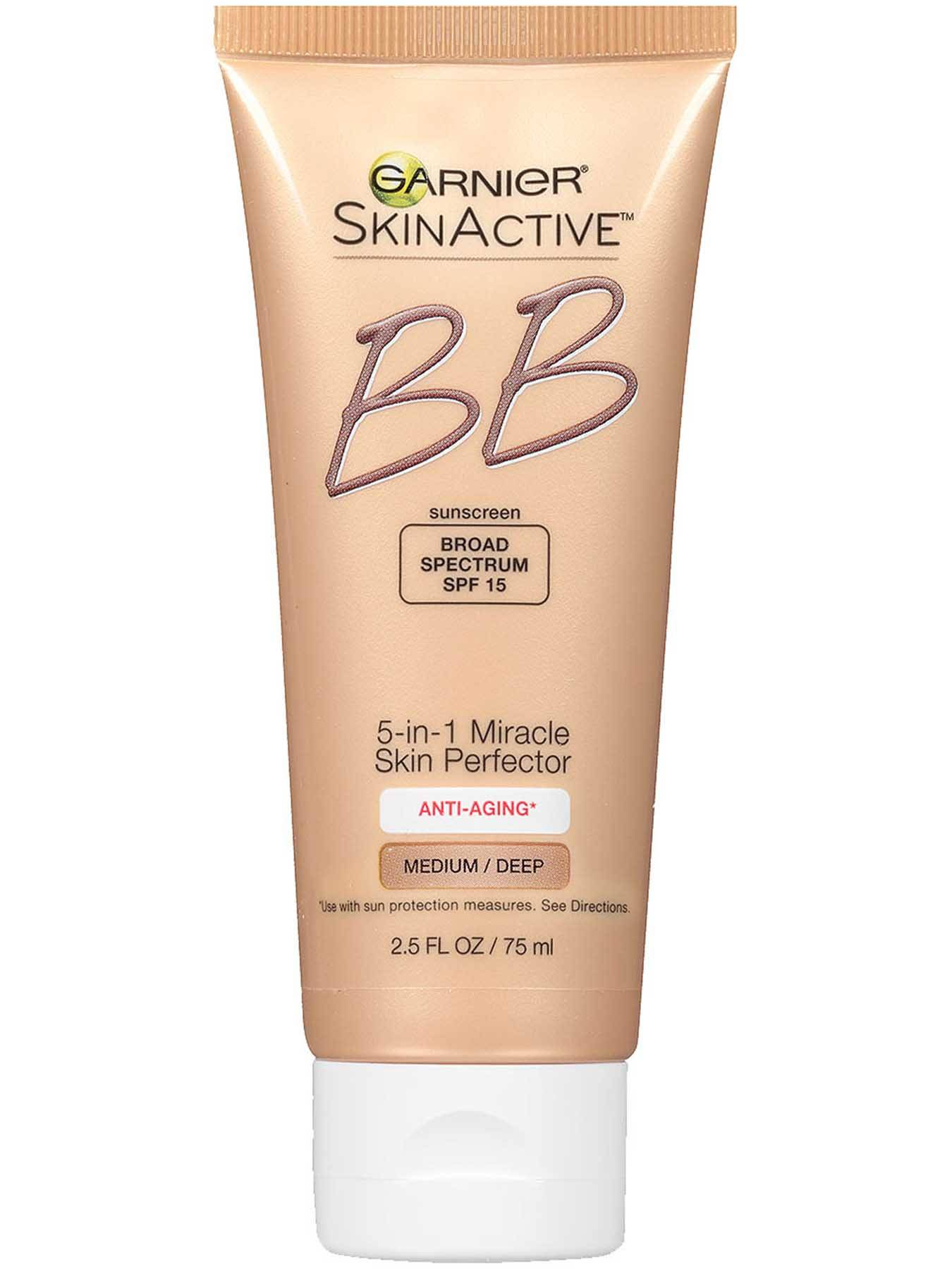 Front view of BB Cream Anti-Aging Medium Deep.