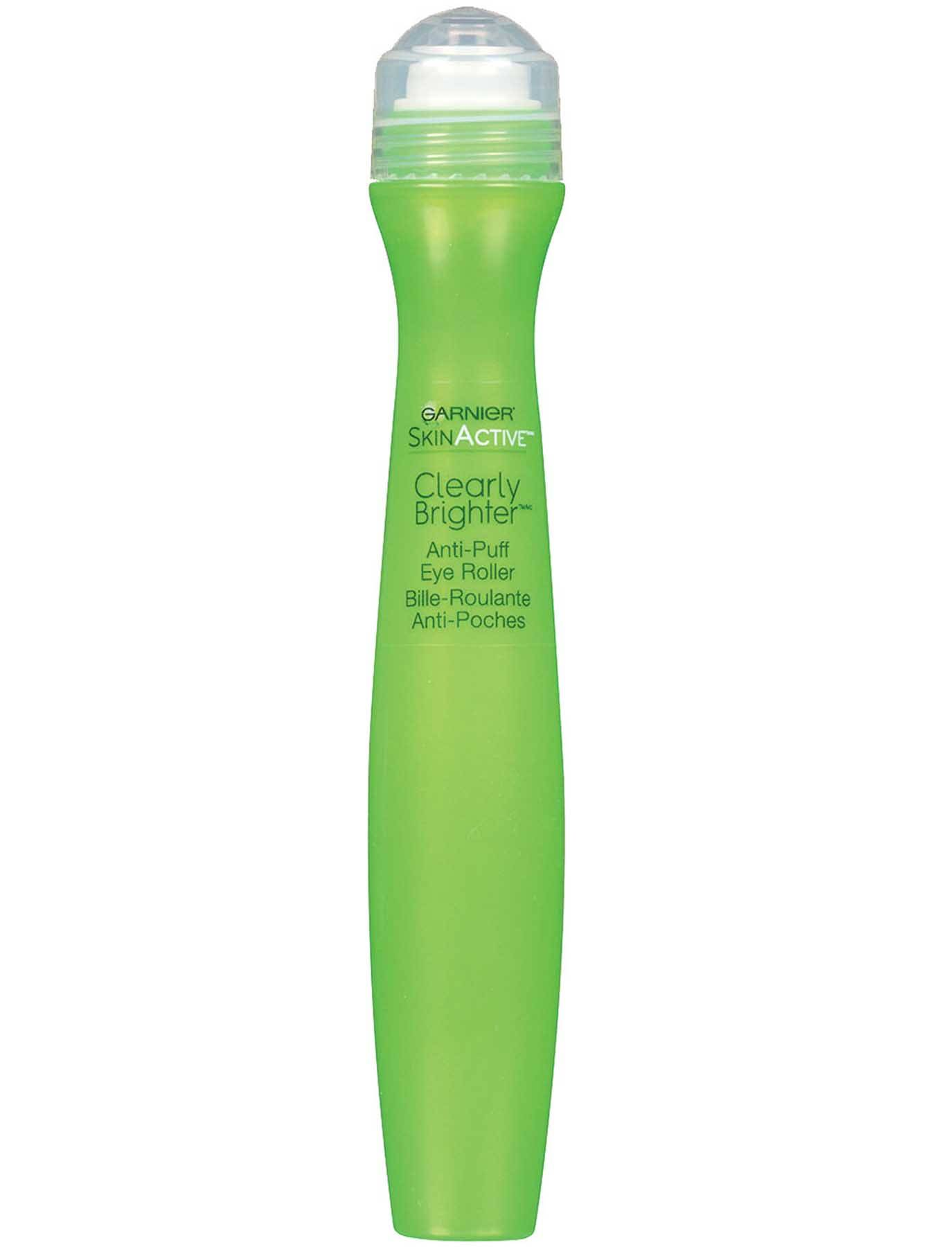 Garnier SkinActive Clearly Brighter Anti-Puff Eye Roller Box Right