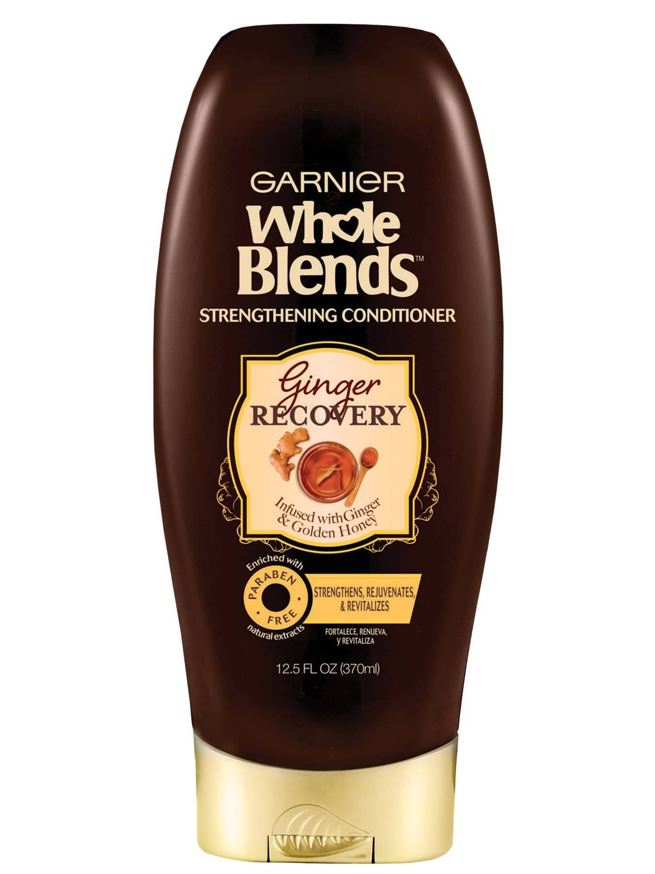 Front view of Whole Blends Ginger Recovery Strengthening Conditioner.
