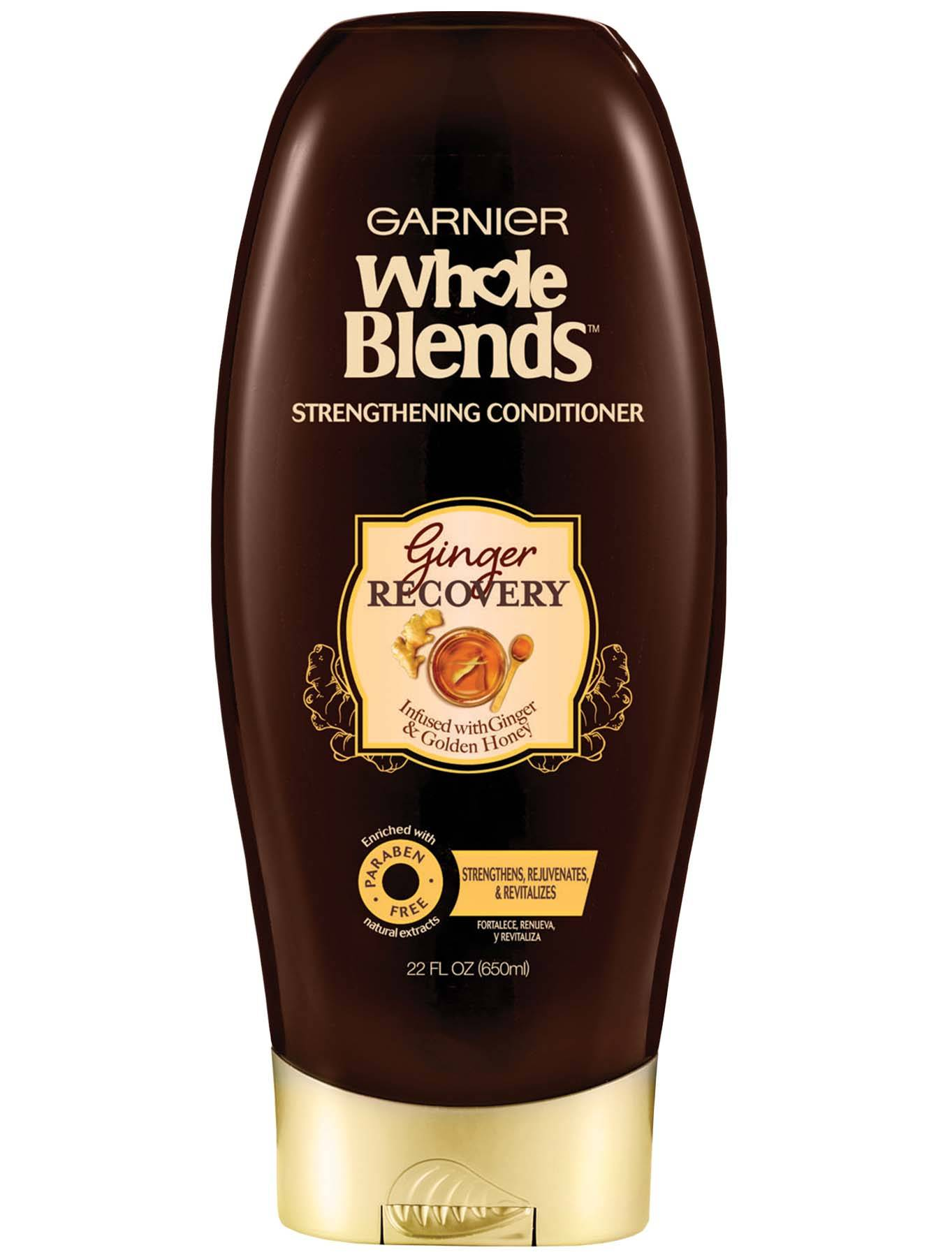Front view of Whole Blends Ginger Recovery Strengthening Conditioner 22oz