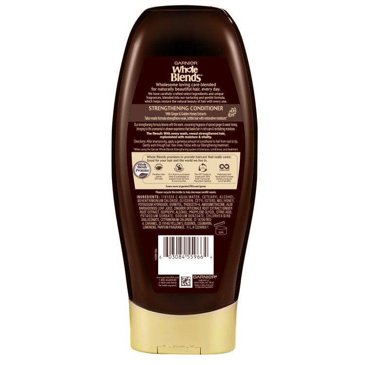 Whole Blends Ginger Recovery Conditioner Back