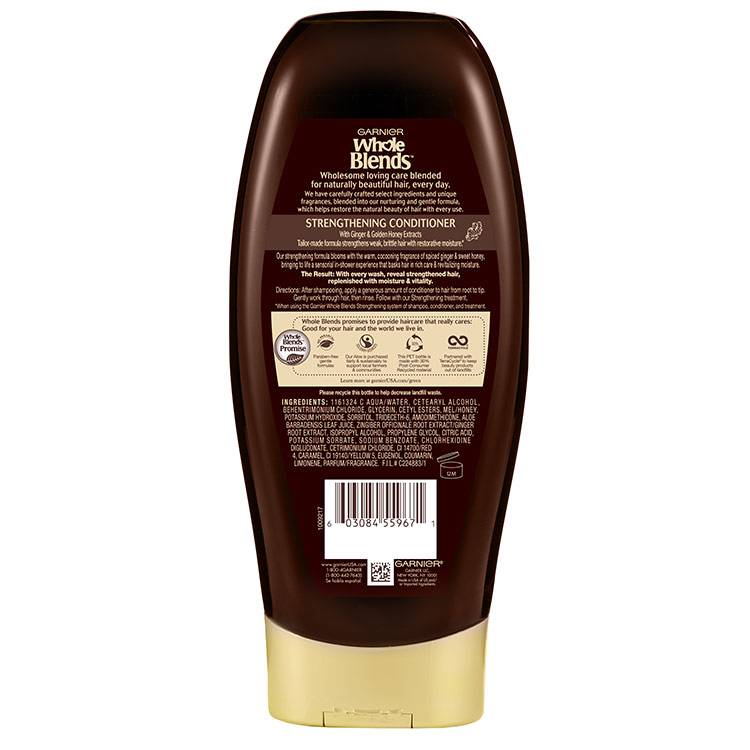 Whole Blends Ginger Recovery Conditioner Back 22 fl.oz