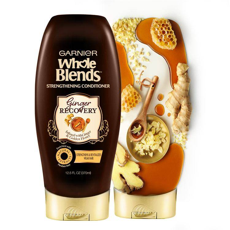 Whole Blends Ginger Recovery Conditioner with Ingredients