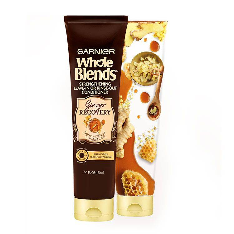 Whole Blends Ginger Recovery Leave-In Treatment with Ingredients