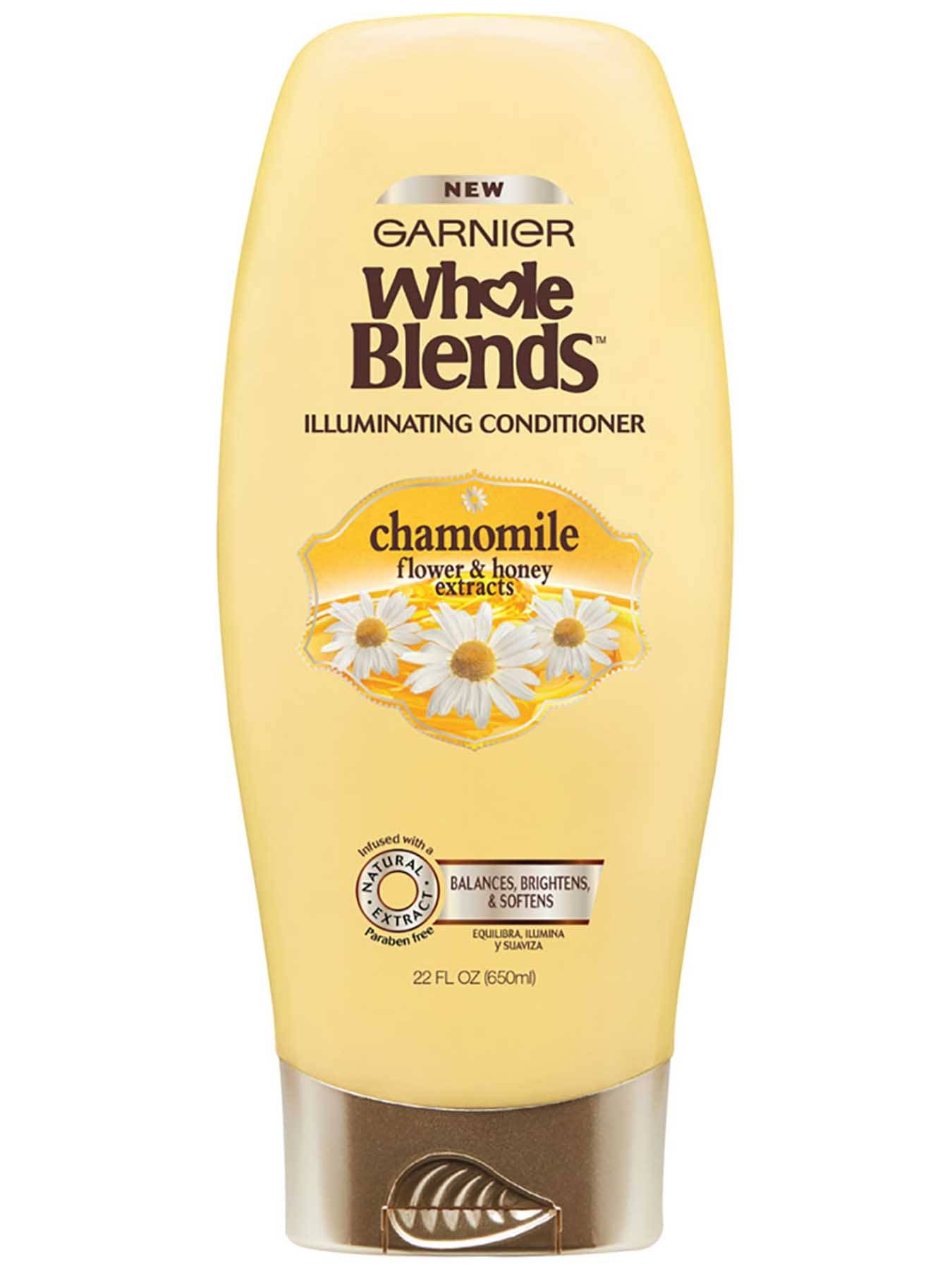 Front view of Illuminating Conditioner with Chamomile Flower and Honey Extracts, Silicone-Free.