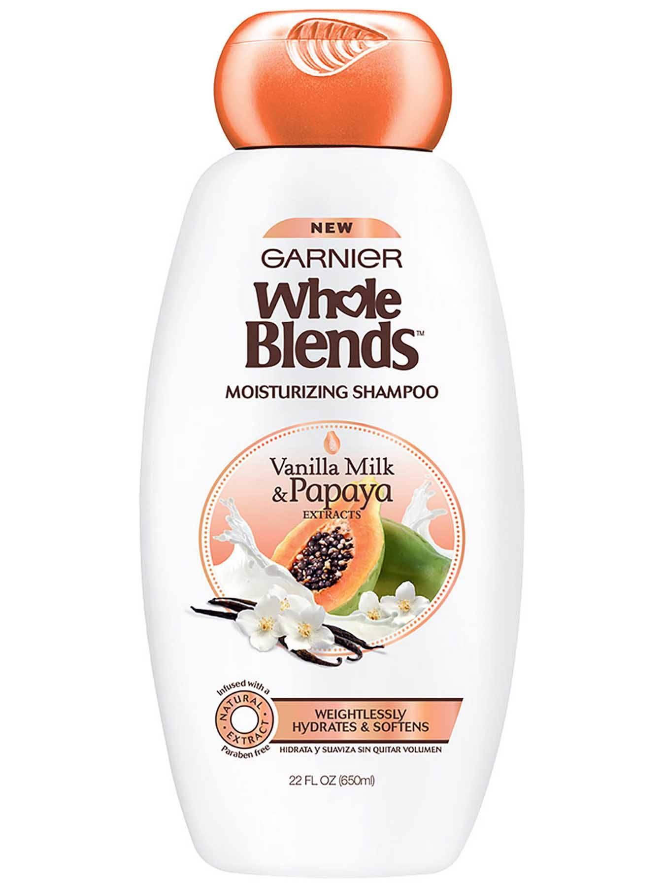 Whole Blends Vanilla Milk Amp Papaya Moisturizing Shampoo