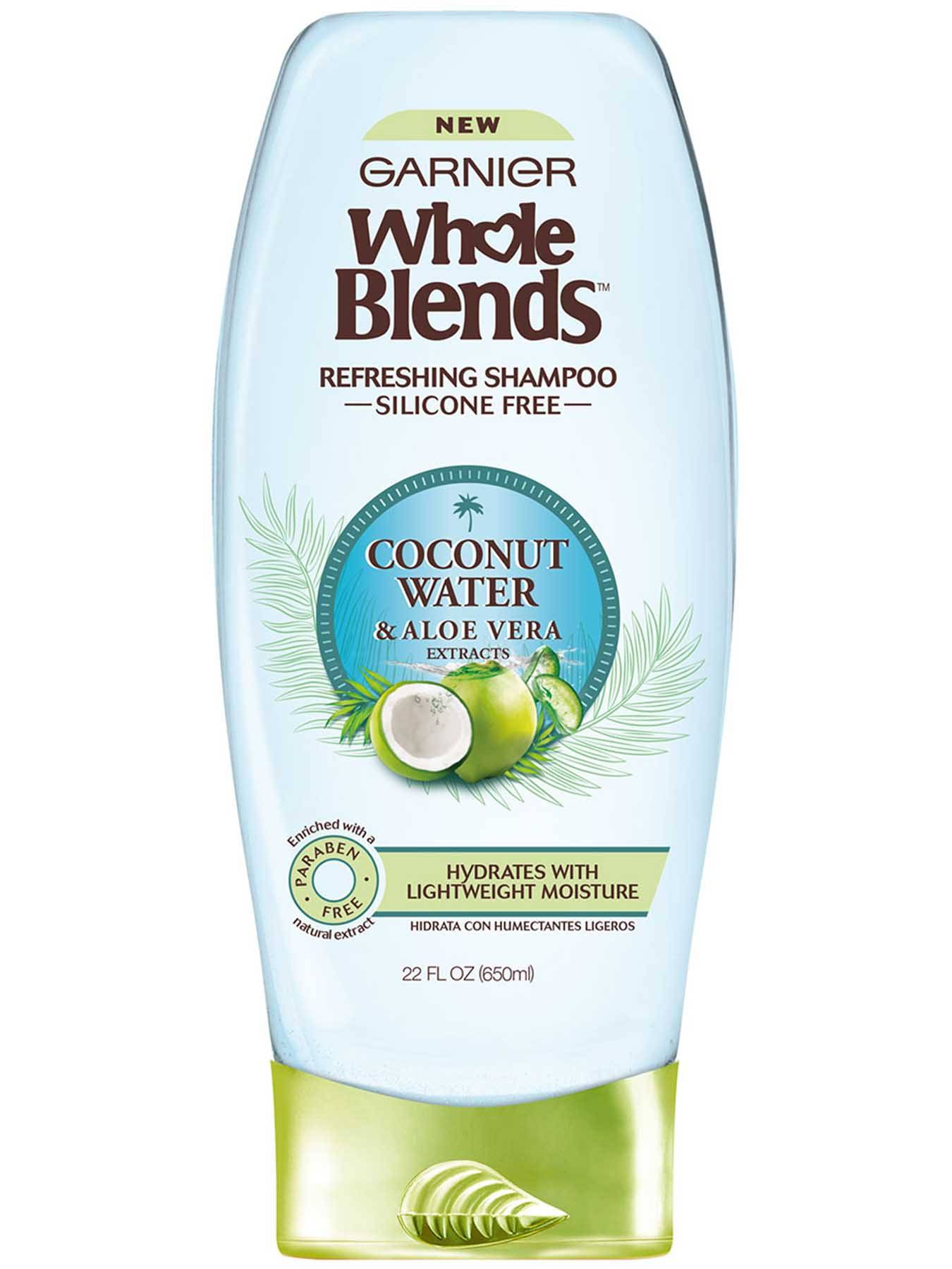 Whole Blends Natural Ingredient Hair Care Products Garnier
