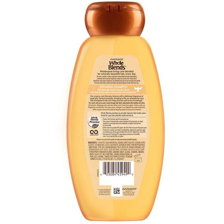 Honey Treasure Shampoo back