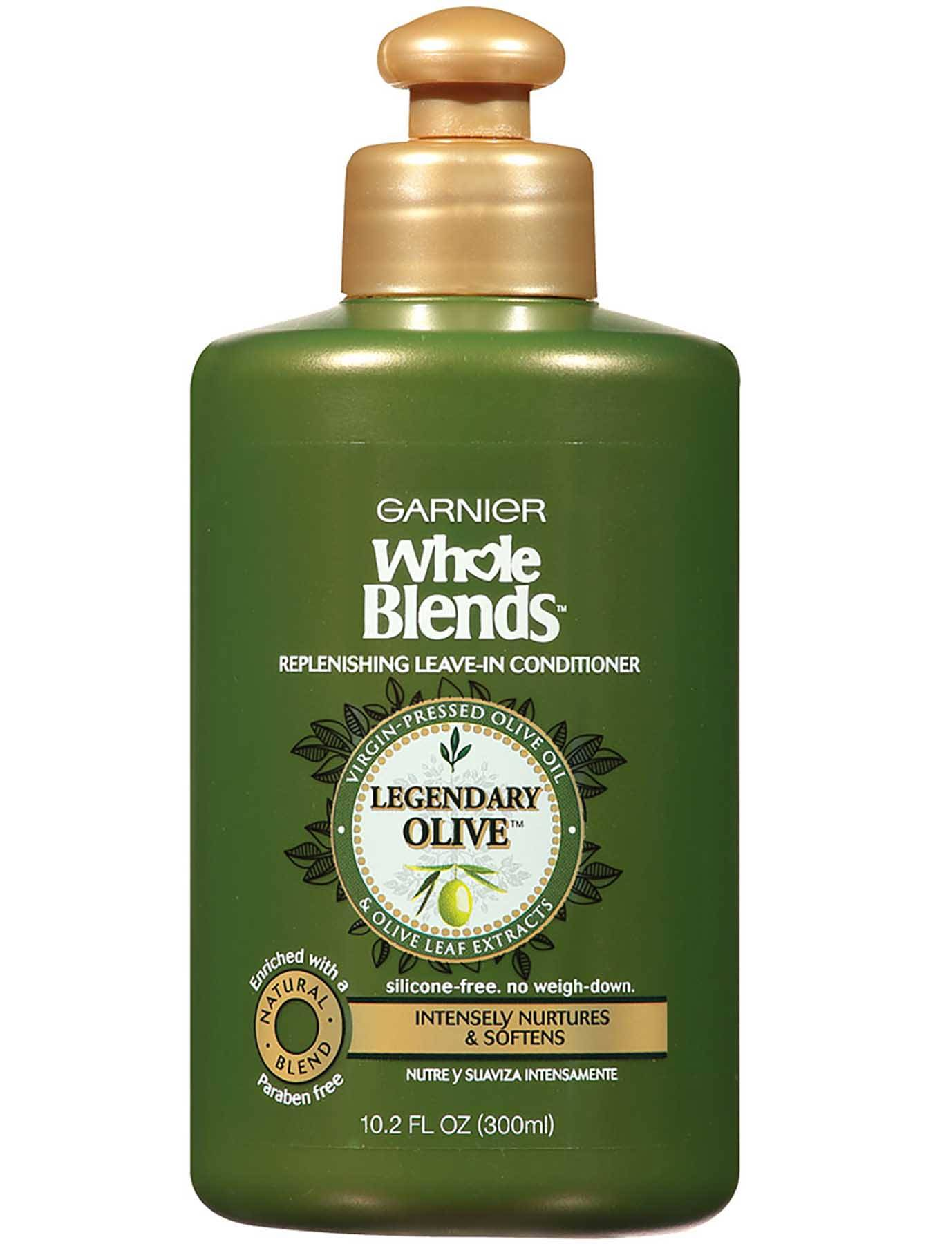 Front view of Replenishing Leave-In Conditioner with Legendary Virgin-Pressed Olive Oil and Olive Leaf Extracts.