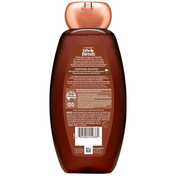 Coco Cocoa Smoothing Shampoo back