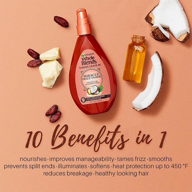 Garnier Whole Blends - Sulfate Free Miracle 10-in-1 Coconut - product detail