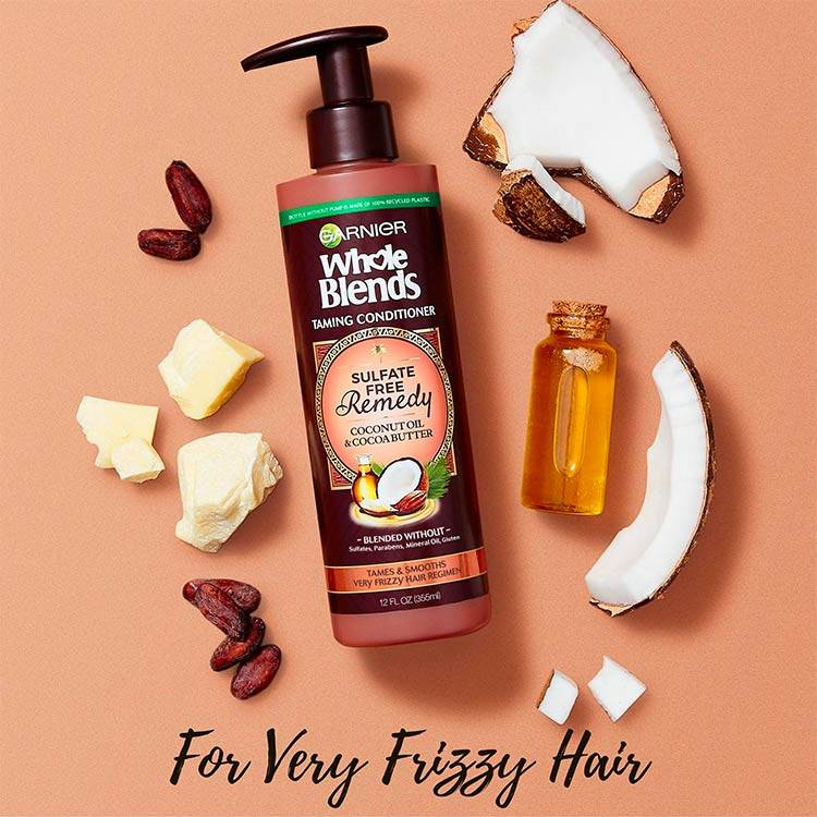 Garnier Whole Blends - Sulfate Free Conditioner Coconut - product detail