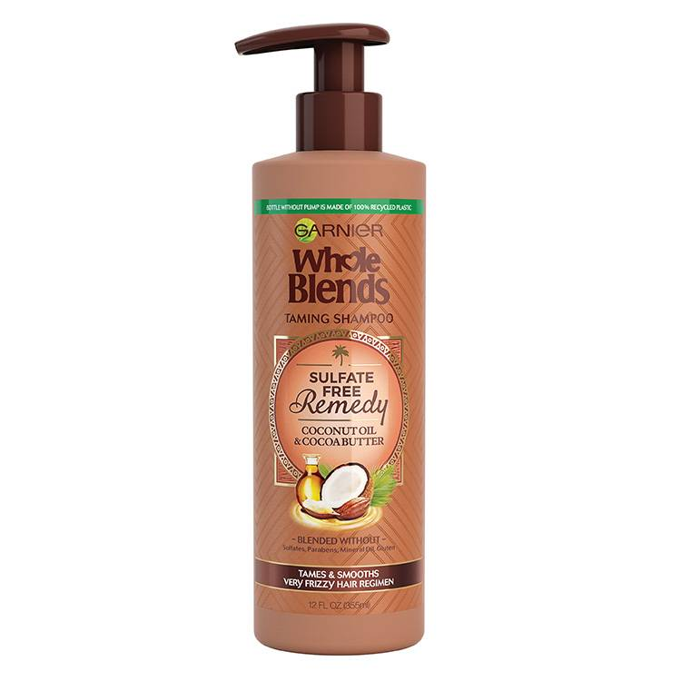 Garnier Whole Blends - Sulfate Free Shampoo Coconut - product detail