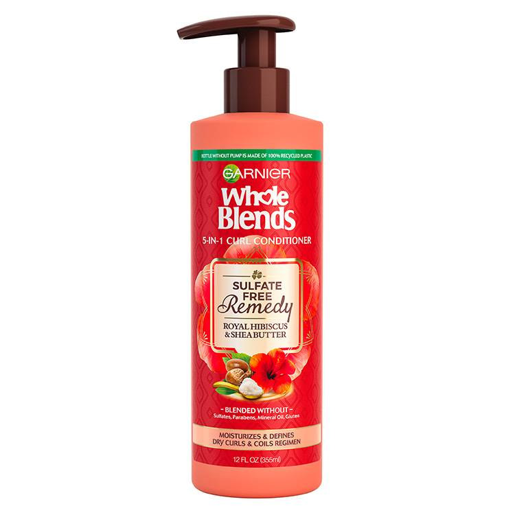 Garnier Whole Blends - Sulfate Free Conditioner Hibiscus - product detail