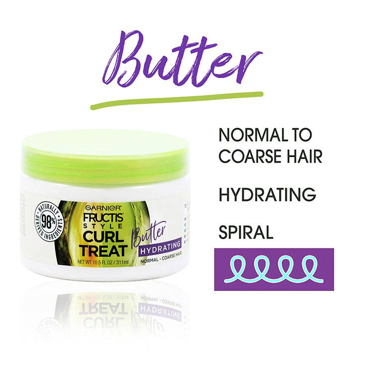 Curl Treat butter benefits
